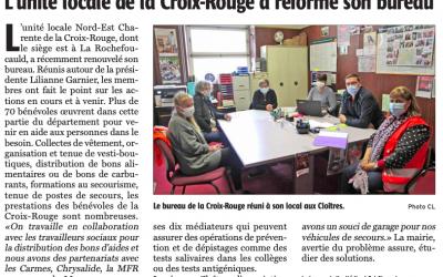 Article Charente Libre du 20 Mai 2021